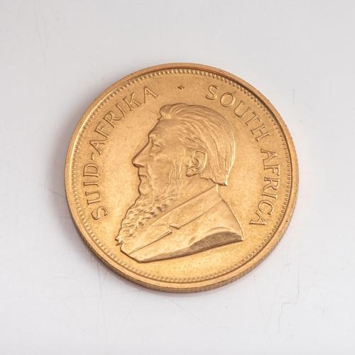 65 - A GOLD KRUGERRAND 1/2 OZ Minted 1980