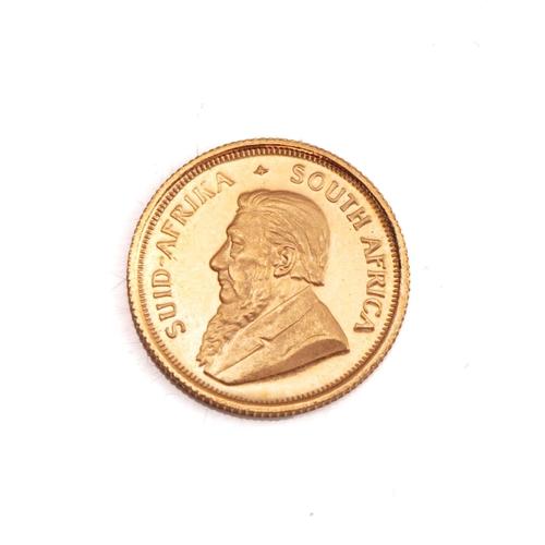69 - A GOLD KRUGERRAND 1/10TH  OZ  Minted 1980