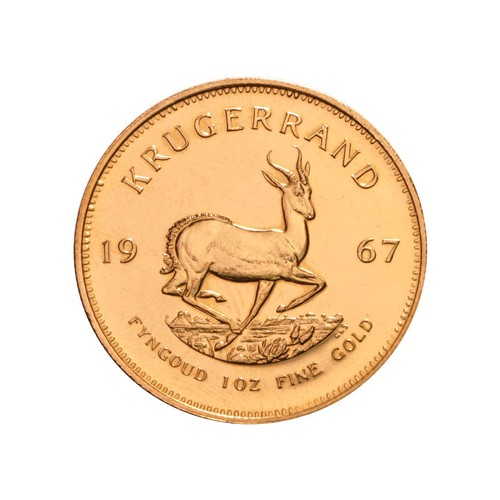 68 - A GOLD KRUGERRAND 1 OZ MINTED 1967