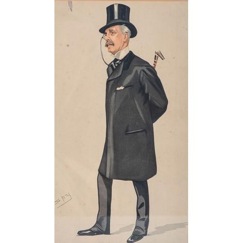 10 - Leslie Ward (aka 'Spy' and 'Drawl') (British 1851 - 1922), GENTLEMAN...