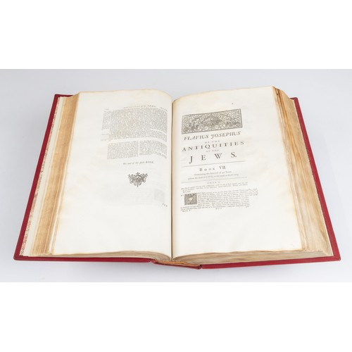 63 - THE GENUINE WORKS OF FLAVIUS JOSEPHUS, THE JEWISH HISTORIAN