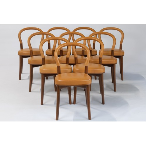 372 - A SET OF TEN GÖTEBERG CHAIRS, DESIGNED BY ERIK GUNNAR ASPLUND CIRCA 1930 FOR CASSINA