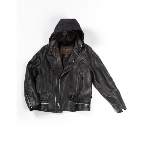 240 - A LOUIS VUITTON COLLECTOR LEATHER JACKET