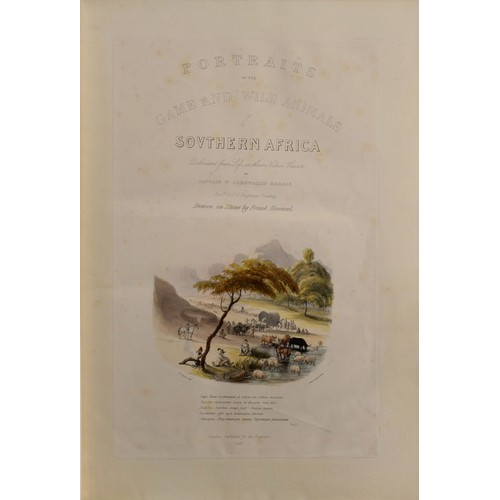 77 - W. Cornwallis Harris - PORTRAITS OF THE GAME AND WILD ANIMALS OF SOUTHERN AFRICA