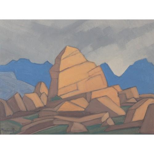 439 - Jacobus Hendrik Pierneef (South African 1886 - 1957) MALUTIS
