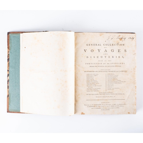 22 - Author Not Indicated ? A GENERAL COLLECTION OF VOYAGES AND DISCOVERIES MADE BY THE PORTUGUESE AND TH...