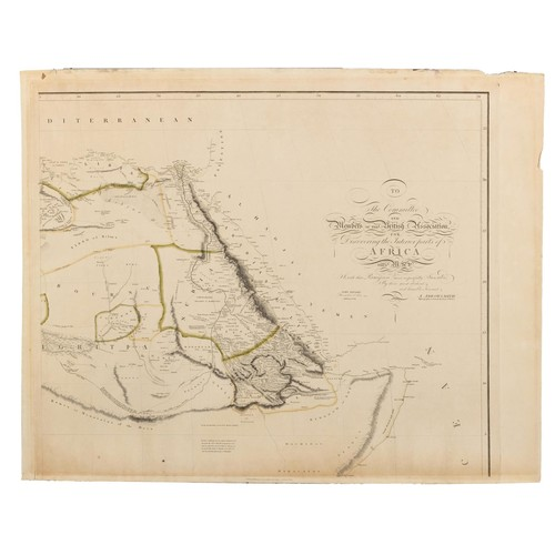 499 - Arrowsmith – AFRICA WALL MAP