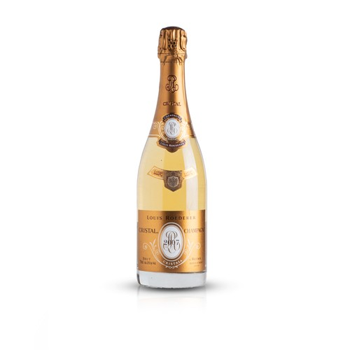 12 - A bottle of Cristal from Louis Roederer