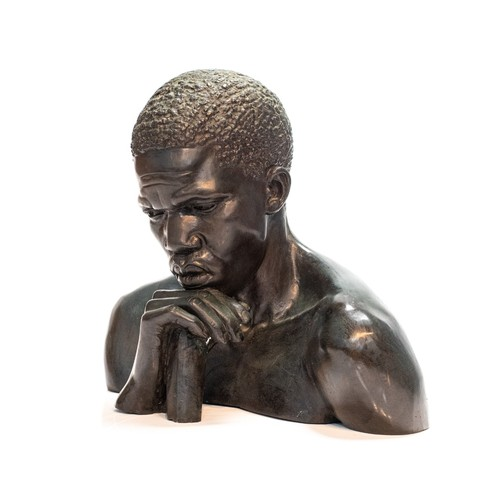343 - Anton van Wouw (South African 1862 - 1945) THE THINKER