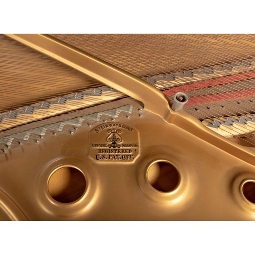 301 - AN EBONISED CASED MODEL B GRAND PIANO, STEINWAY, CIRCA 1967