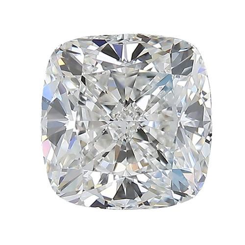 541 - A CERTIFIED CUSHION-CUT DIAMOND 3.01 CARATS