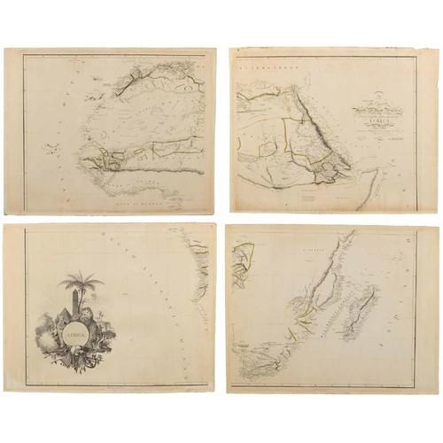 Arrowsmith – AFRICA WALL MAP
