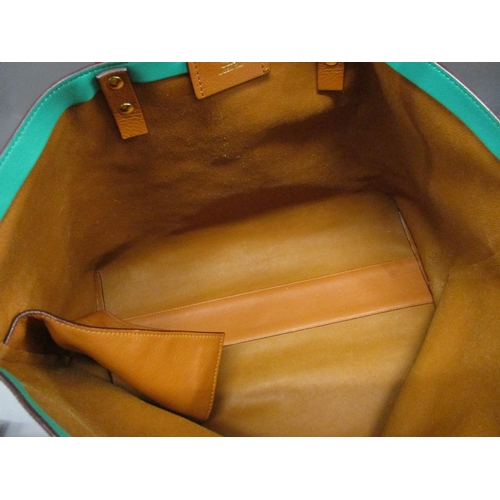17 - Chloe large Dilan shopper tote in hazel brown lambskin leather, complete with original label and dus...