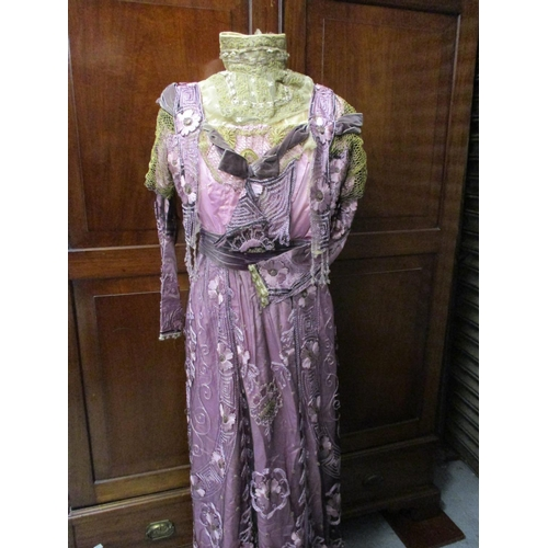 30 - Edwardian ladies dress...