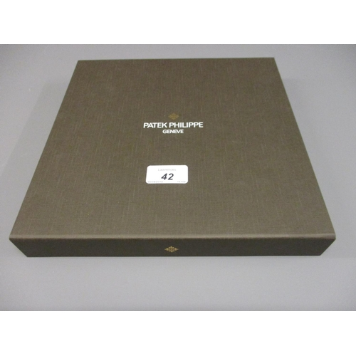 42 - Patek Philippe Limited Edition cashmere stole in original box...
