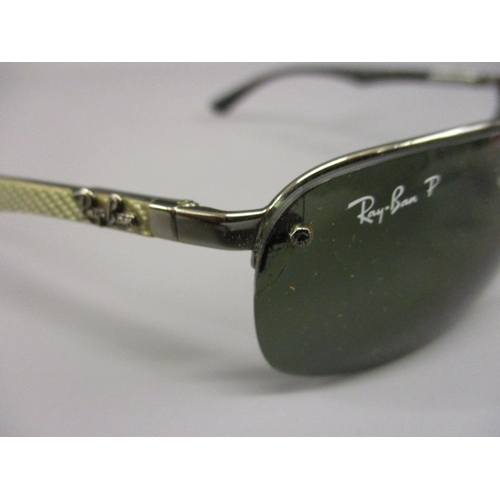 46 - Pair of Ray-Ban sunglasses with case and another case...