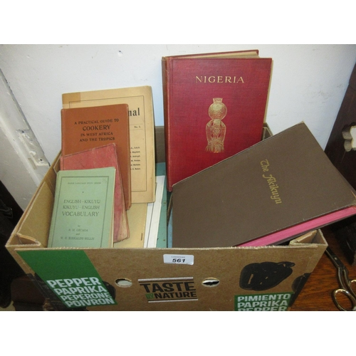 561 - Small collection of various books, booklets and pamphlets relating to East Africa, including ' The A...