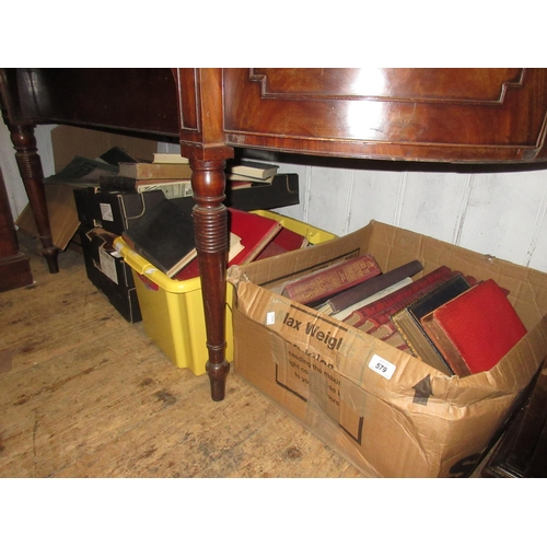 579 - Large quantity of 19th and 20th Century volumes...