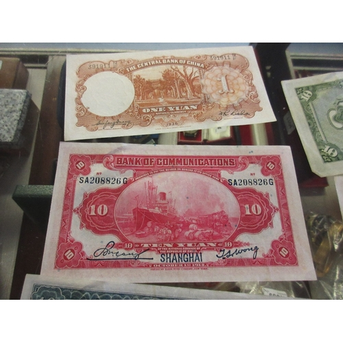 1042 - Album containing a collection of pre-decimal coinage together with a quantity of World coinage and b...