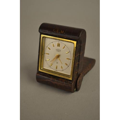1406 - Vintage Angelus travelling clock...