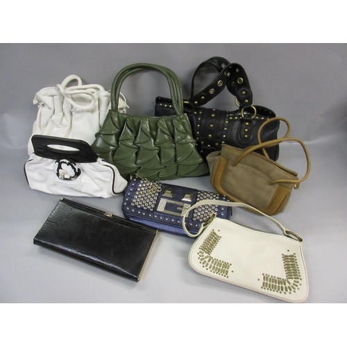 50 - Eight various handbags including Guess, Dune, Nine West etc....