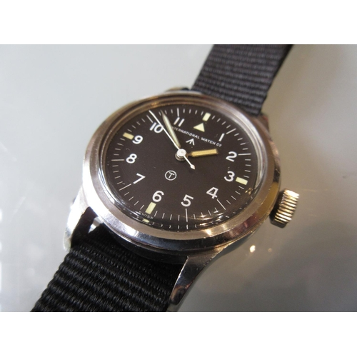 950 - Rare International Watch Co., I.W.C. Mark 11, British Military issue wristwatch, circa 1948, the cas...