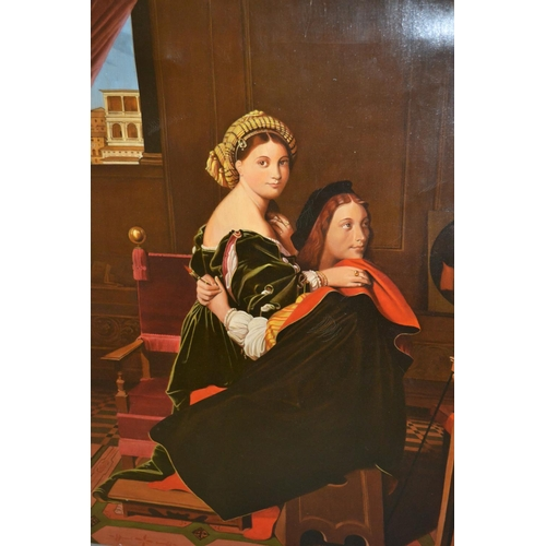 993 - 20th Century oil on canvas, artist and sitter in studio, 26ins x 21ins...
