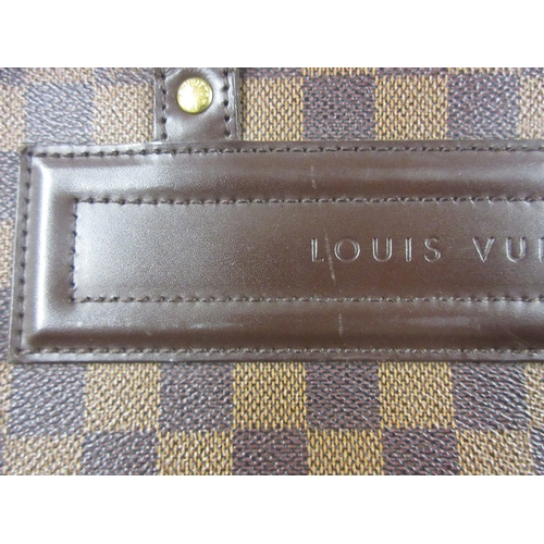 55A - Louis Vuitton Nolita Ebene Damier handbag, complete with dust bag...