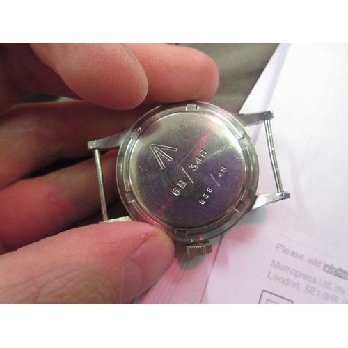 950 - Rare International Watch Co., I.W.C. Mark 11, British Military issue wristwatch, circa 1948, the cas...