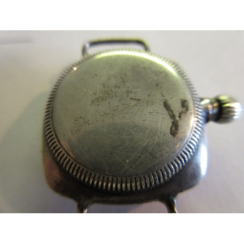 943 - 1920's Rolex Oyster silver wristwatch (for restoration or spares)...