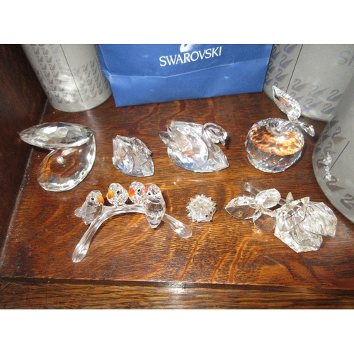 606 - Collection of various Swarovski crystal items (mainly in original boxes)...
