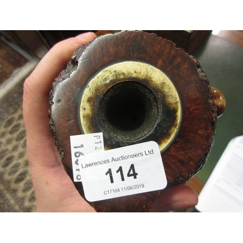 70 - Unusual 19th Century root wood table pipe...