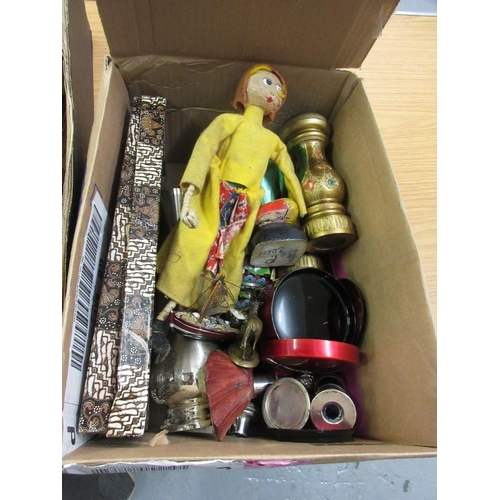 100 - Various wooden puppets, wooden condiments, carved wooden dolls etc...