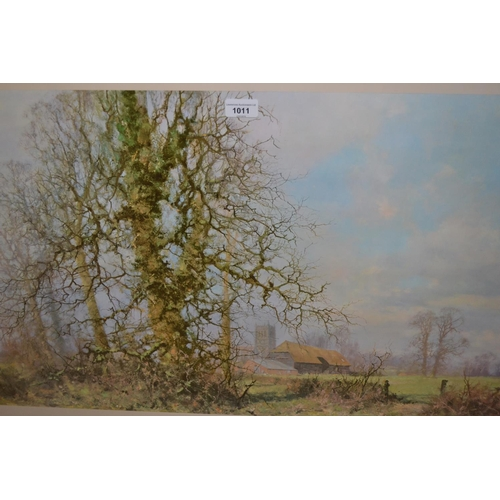 1011 - David Shepherd, signed coloured print, ' This England ' together with another signed print...
