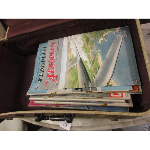 116 - Twelve copies, ' The Aeroplane Magazine ' 1935 - 1944...
