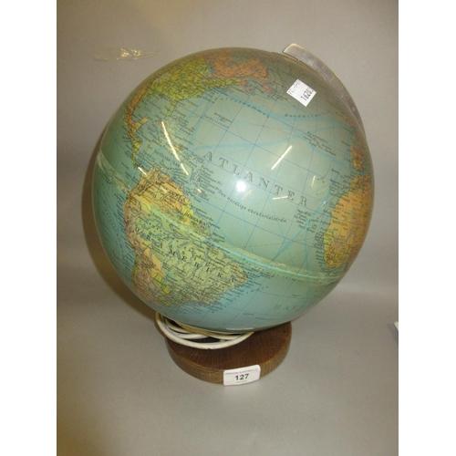 127 - 20th Century globe lamp by Duplex...