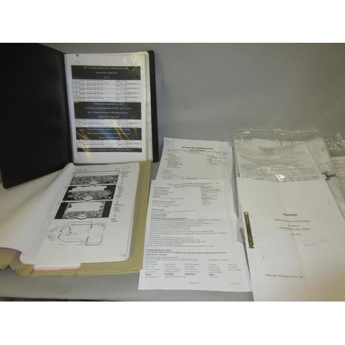 138 - Folio containing a quantity of various film memorabilia including: ' Anna Karenina Memorandum ' by G...