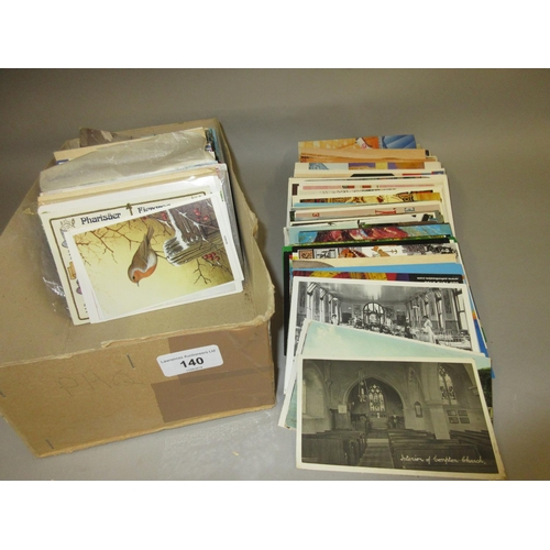 140 - Box of various 20th Century postcards...