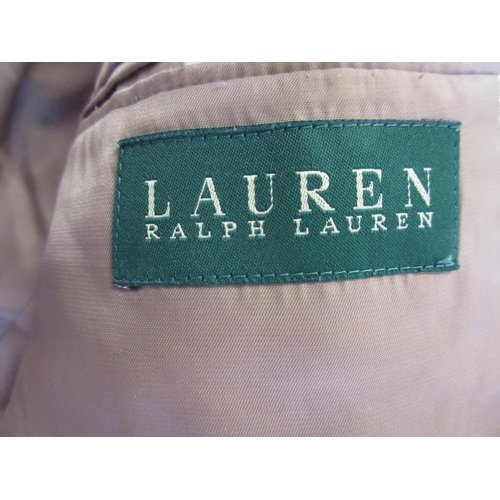 17 - Ralph Lauren beige checked jacket, size 44R...
