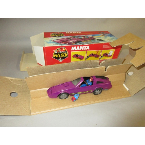 177 - Kenner Mask toys, boxed Manta Nissan 300ZX...