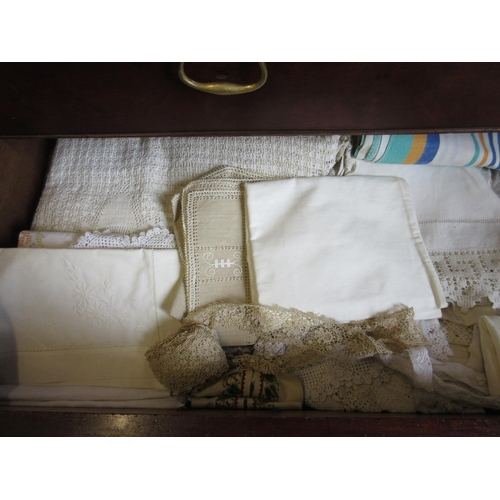 24 - Quantity of various table linen and other textiles...