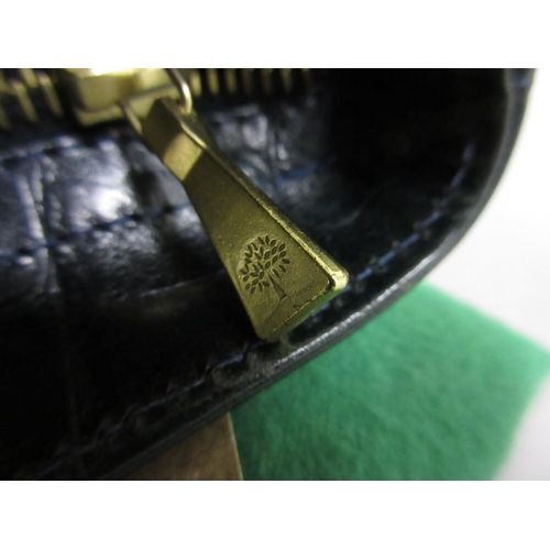 27 - Mulberry green Congo leather Hellier handbag with detachable shoulder strap, with original dust bag ...