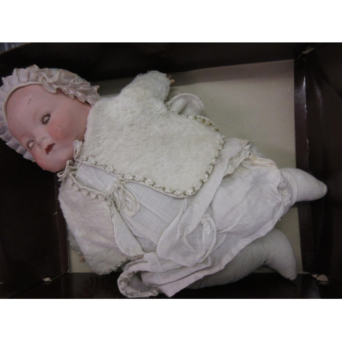 312 - Armand Marseilles bisque headed baby doll...