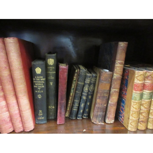 372 - Lord Henry Brogham, set of ten leather bound volumes, ' Speeches ' 1857, together with various other...