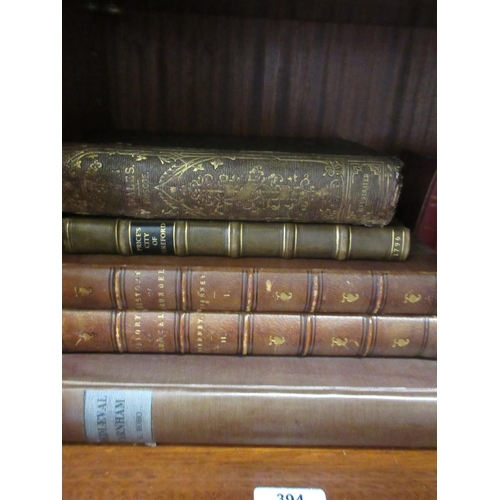 394 - Two volumes Reverend M.A. Tierney, ' The History and Antiquities of the Castle and Town of Arundel '...