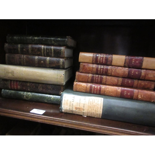 397 - Four volumes, ' Boswell's Life of Johnson, 1826 ', one volume ' The Life of Samuel Johnson ' 1897, t...