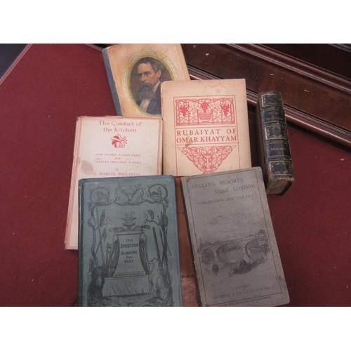 399 - 1841, ' The Sporting Almanac ' 1878 ' Angling Resorts Near London ', together with five various othe...