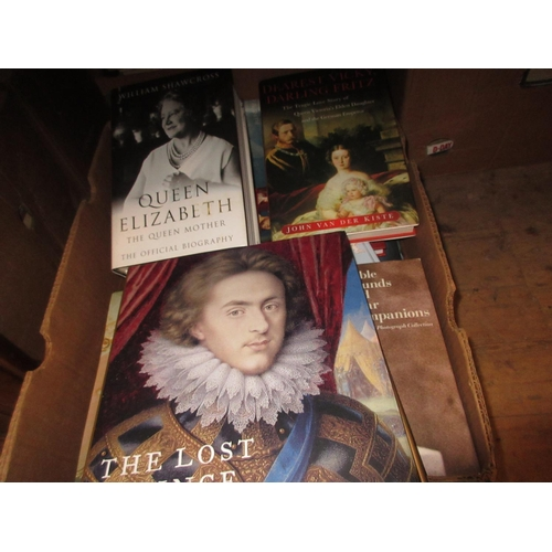 402 - Approximately seventeen Royalty related volumes, mainly hardbacks with dust wrappers in mint conditi...