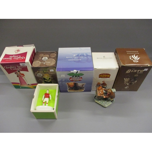 509 - Collection of six Royal Doulton advertising commemorative Limited Edition figures, Pears ' Bubbles '...