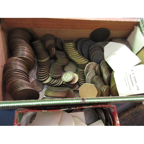 876 - Quantity of mainly 19th and 20th Century Great Britain coinage...